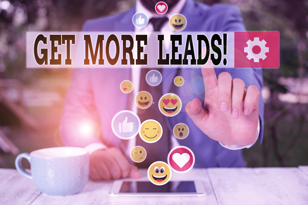 create engaging social media content to generate leads!