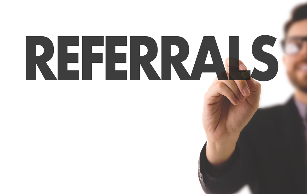 you can market yourself as a health insurance agent by getting client referrals